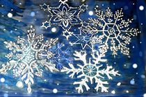 Eiskristalle von Heidi Schmitt-Lermann