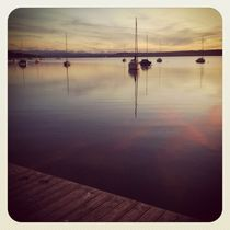 Lake Ammersee evening glory (Instagram) by Eva Stadler