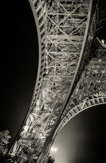 Faded Memories: Eiffel Tower by Cameron Booth