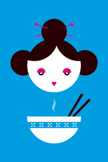 Chinese Miso Girl by Krista de Groot
