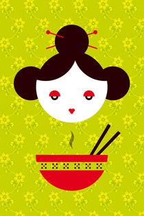 Chinese Miso Girl von Krista de Groot