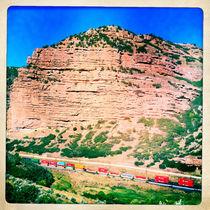 Utah Train von Jenny Allport