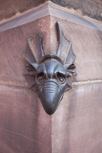 Metal Dragon Head on Notre-Dame von safaribears