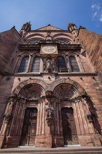 Side portal of Notre-Dame, Straßburg by safaribears
