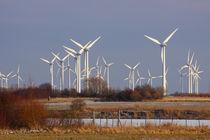 Windkraftanlage - Wind power plant von ropo13