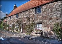 Lindisfarne Cottages von Colin Metcalf