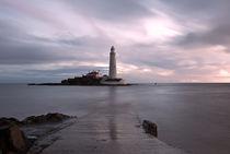Lighthouse Before Sunrise by David Pringle