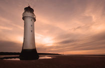Dusk at New Brighton von Wayne Molyneux