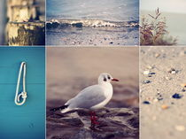 Beach Impressions  Collage°2 by syoung-photography