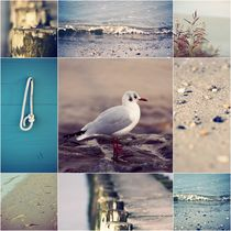 Beach Impressions Collage °1 by syoung-photography