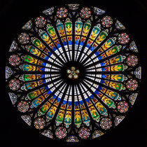 Rose Window of Straßburg Cathedral by safaribears