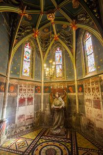 Chapel in Saint-Pierre-le-Jeune protestant by safaribears
