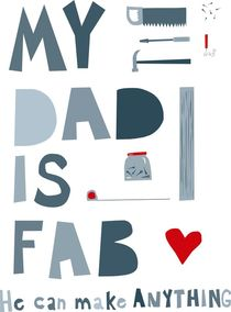 'My Dad is Fab' von Nic Squirrell
