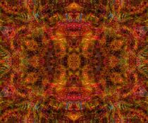 Mohair Mandala von Richard H. Jones