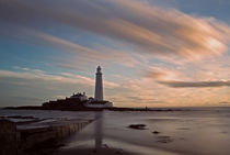 Lighthouse After Sunrise by David Pringle