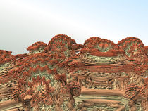 Mandelbulb Closeup die Zweite by Frank Siegling