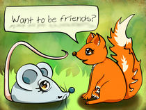 Want To Be Friends? by Claudia Pflicke