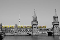 Oberbaumbrücke by Petra Hinz