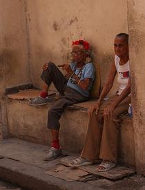 Kubanische Kult-Oma  von Dirk Passarge