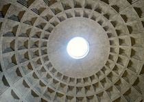 Ceiling of Pantheon by nessie