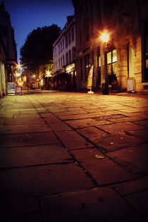 Clare Street Bristol at night