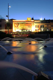 Bristol Hippodrome and Fountains by Dan Davidson
