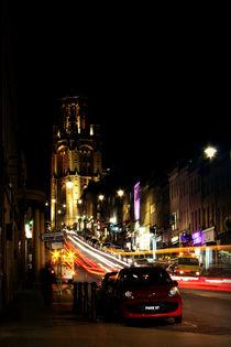 Park Street Bristol at night von Dan Davidson