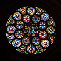 Rose Window in Saint Thomas von safaribears