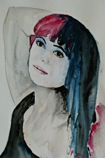 Porträt  by Ismeta  Gruenwald