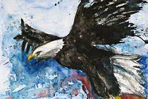Adler im Flug von Ismeta  Gruenwald