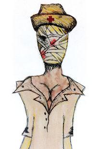 Die untote Krankenschwester von Caterina Horzela