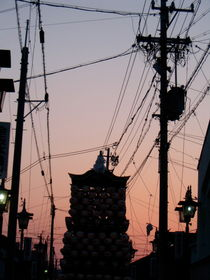 Parade Floats and Powerlines by Jenny Allport