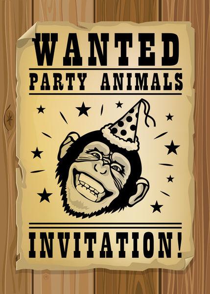 Maarten-rijnen-wanted-party-animals-invitation