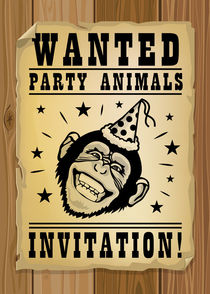 Wanted, party animals von Maarten Rijnen
