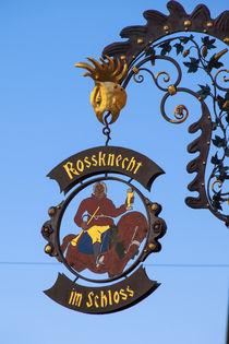 Tavern-sign 'Rossknecht im Schloss' - Detail von safaribears