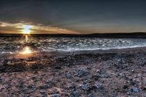 Moody dark welsh sunset by Dan Davidson