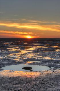 rockpool sunset by Dan Davidson