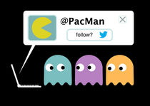 Follow Pacman? von Xavier Felip Cat
