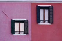 Facade of Burano by Mickaël PLICHARD