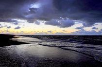Sonnenuntergang auf Juist von Jens Uhlenbusch