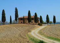 Toskanisches Haus (I cipressini) 2 von Christine Huwer
