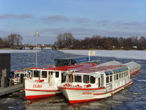 Alster (Hamburg) in wintertime von minnewater