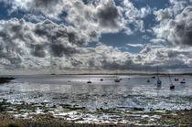 Lindisfarne View #2 von Colin Metcalf