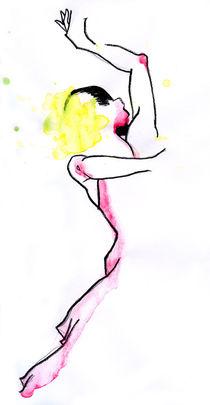 Flamenco Dancer by Oeil Jumratsilpa