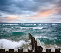 Point Betsie Seawall by Paul Lemke