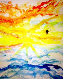 Fly high in colours! by vivek sengupta