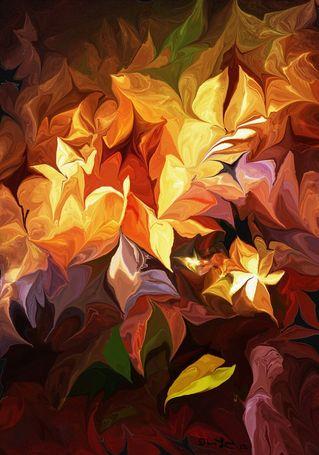 Garden-glow-art-flakes