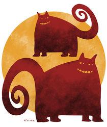 Red Cats von Arnulf Kossak
