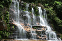 Waterfall in the Blue Mountains by Michael Lindegger