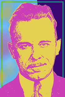 JOHN DILLINGER-PURPLE by Otis Porritt